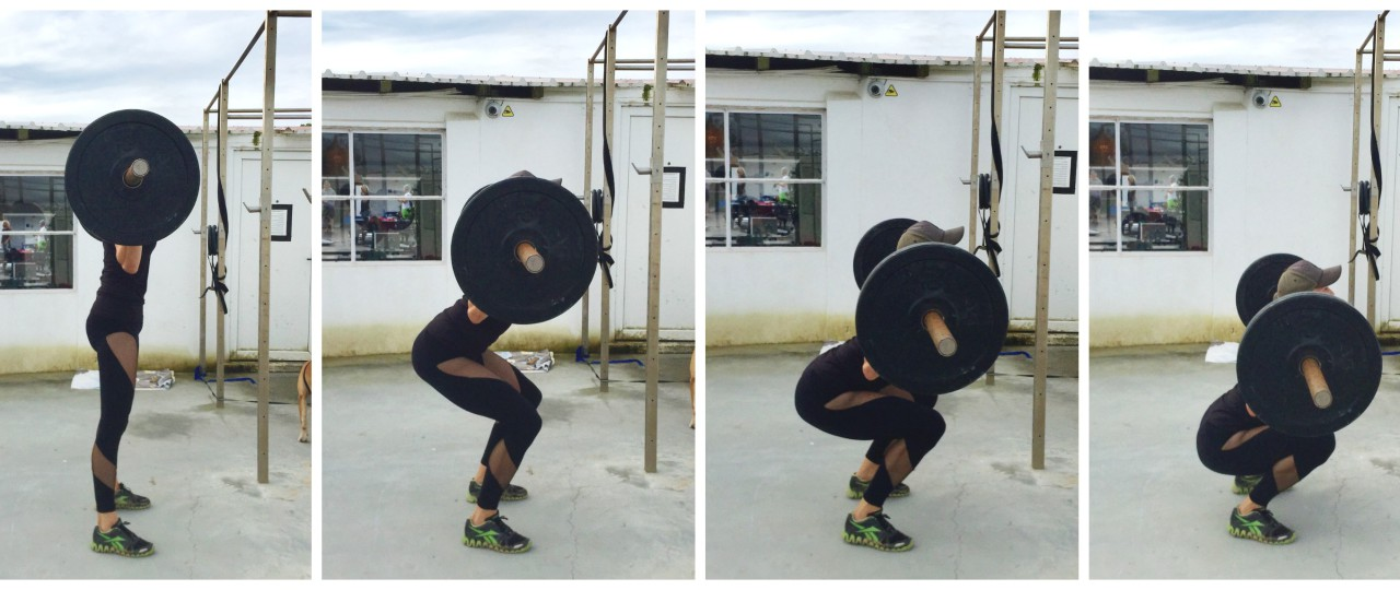 Squat Collage