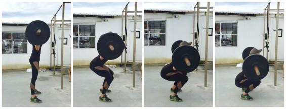 Squat Collage