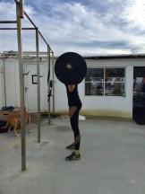 Squat pose 1