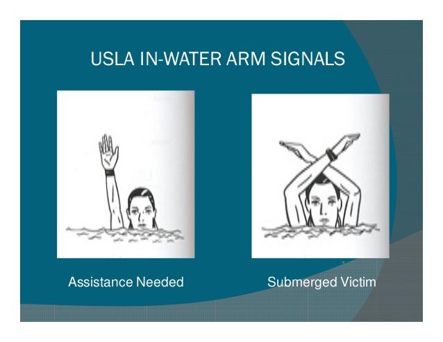emergency hand signals